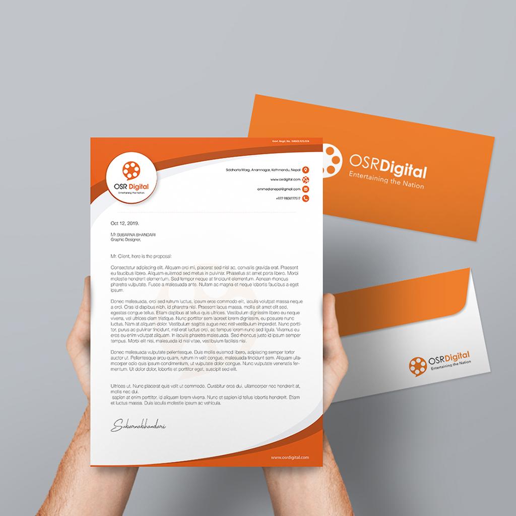 Subarna Design, Letter Head Design